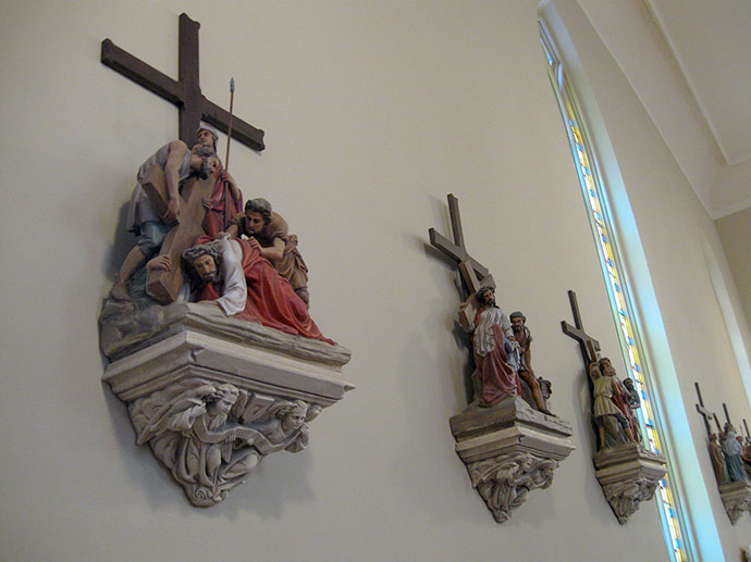 decorative painting church 1j