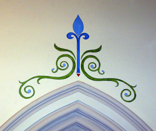 decorative painting church 2e