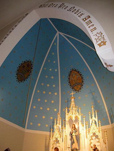 decorative painting church 3