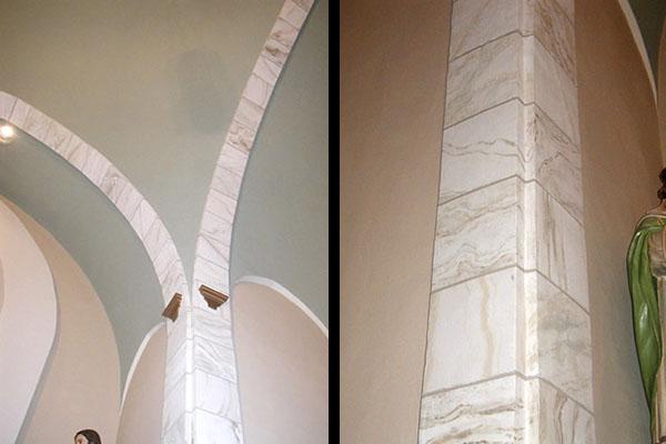 faux stone columns 2