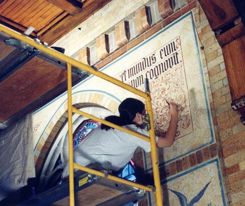 mural restoration oratory ip4