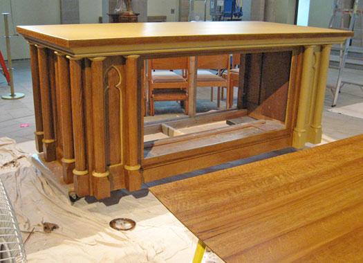 restoration altar 2