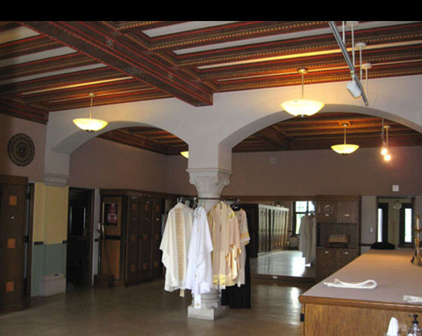restoration sacristy a