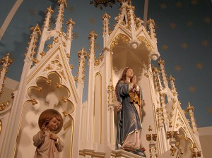 decorative painting church 1p
