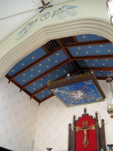 decorative painting church 2a