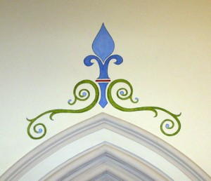 decorative painting church 2d