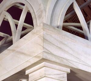 faux stone baldicino 1