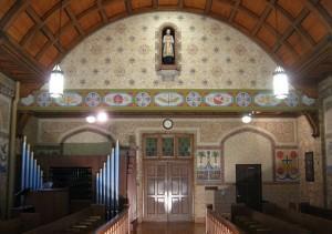 mural restoration oratory