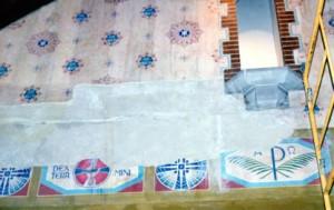 mural restoration oratory b1