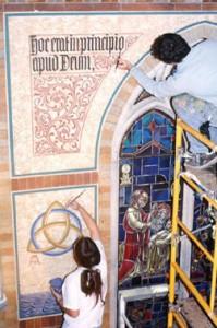 mural restoration oratory ip1